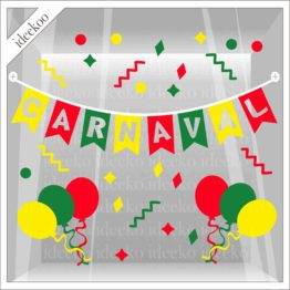 Carnaval sticker carnavalsslinger ballon Mestreech
