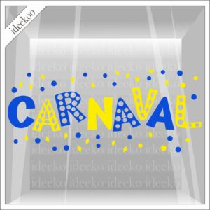 carnavalsticker carnaval letters