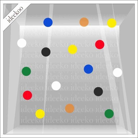 carnaval sticker, confetti sticker, carnaval versiering, oeteldonk sticker