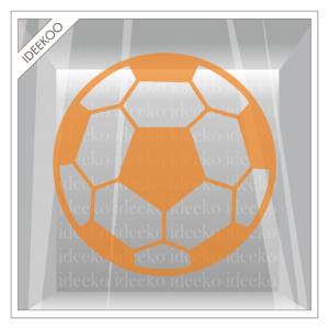 voetbal raamsticker