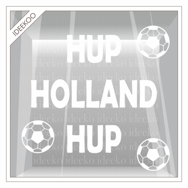hup holland hup sticker voetbal