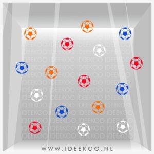 Raamsticker EK, EK, WK, voetbal sticker, oranje legioen, EK versiering, EK sticker